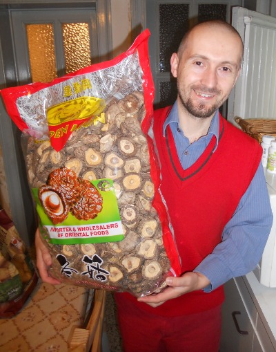 Champignons chinois magasin Saint-Servais
