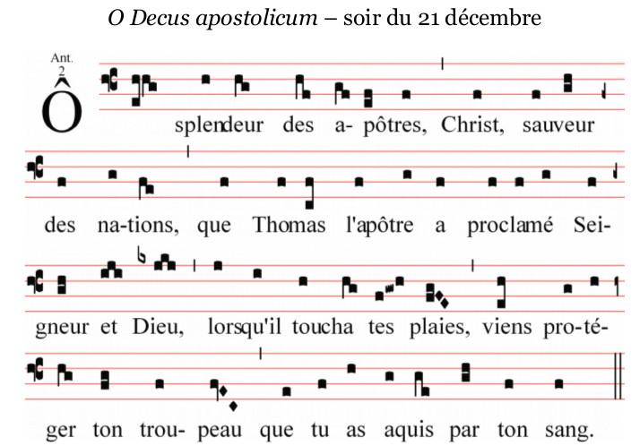 O Decus apostolicum