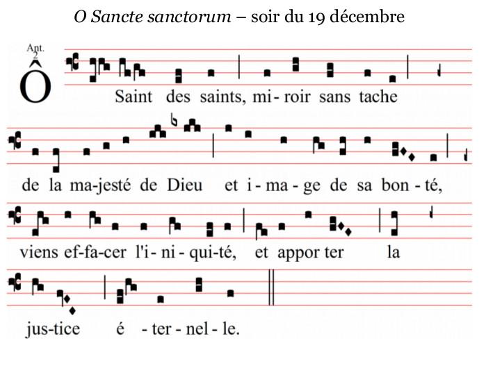 O Sancte Sanctorum
